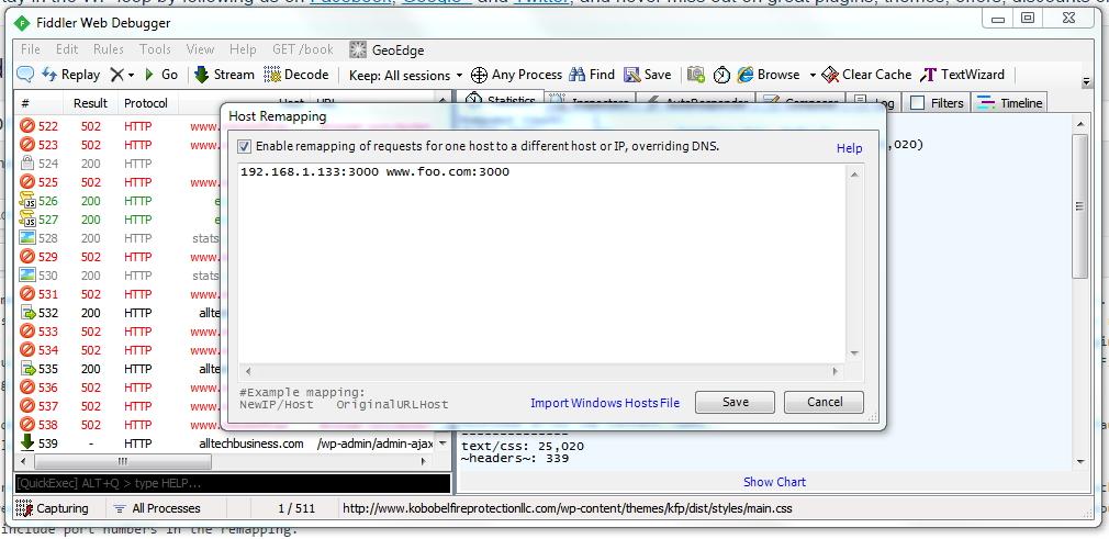 fiddler-host-remapping-wordpress